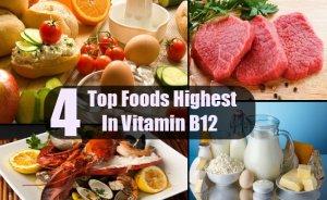 Top-4-Foods-Highest-In-Vitamin-B12